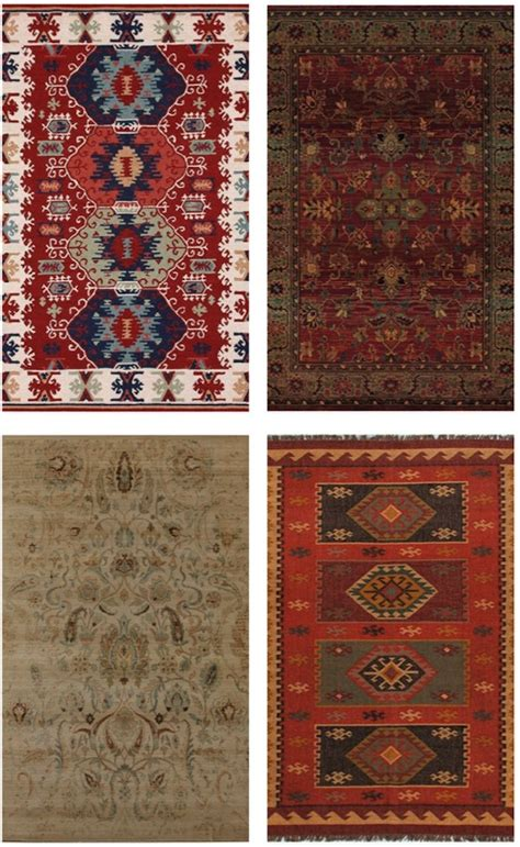 pops of color trend center by rugs direct traditional area rugs in modern spaces trend center by