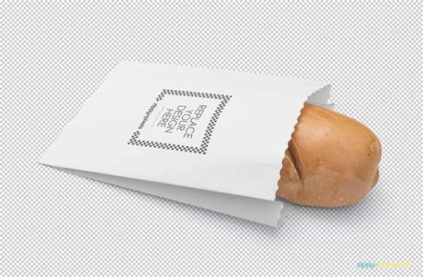 bread packaging mockup psd