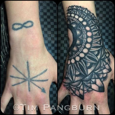 finger tattoo cover ups cover up mandala i this style of work