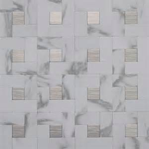 Instant Mosaic Peel And Stick Tile Instant Mosaic Peel And Stick Metal Wall Tile 3 In X 6