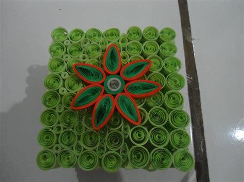 tutorial paper quilling bunga paper quilling bunga hijau orange nadiyah quilling