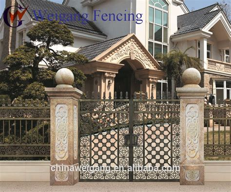 gate door exterior security doors wrought iron door gate designs buy wrought iron door gate