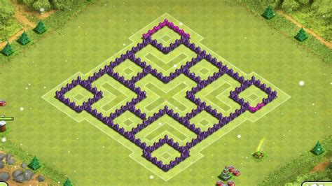 town hall 7 new base insane farming base new 2015 town hall 7 defence clash