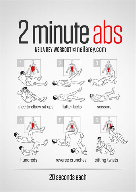 25 best ideas about easy ab workout on