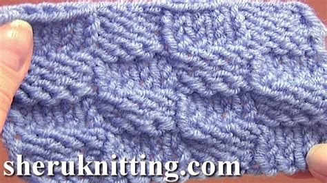 how to check your in knitting knitted checkerboard stitch pattern tutorial 8 easy