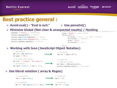 javascript pattern constants mini training javascript patterns