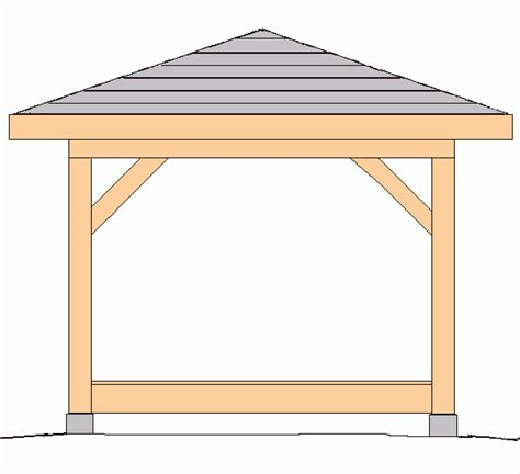 Square Hip Roof pics for gt square gazebo roof