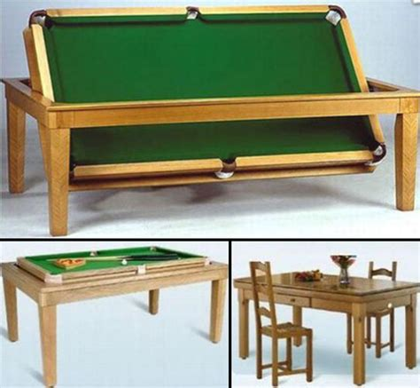 convertible dining room pool table 15 unusual and creative pool tables