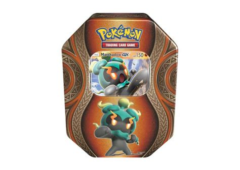 Marshadow Giveaway - pokemon marshadow mysterious powers gx tin breakaway sports cards
