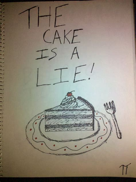 Cake Is A Lie Meme - image 37291 the cake is a lie know your meme