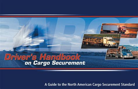 driver s handbook on cargo securement introduction
