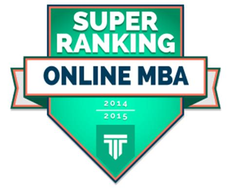 Liberty Mba Cost by Top Mba Ranking 2014 2015