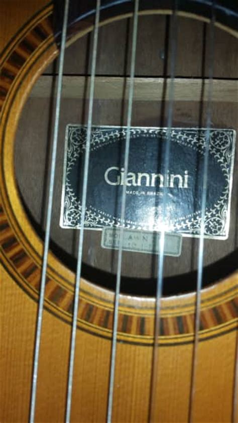 Giannini Awn 21 by Giannini Awn 21 Classical Guitar Awn 21 70s Reverb