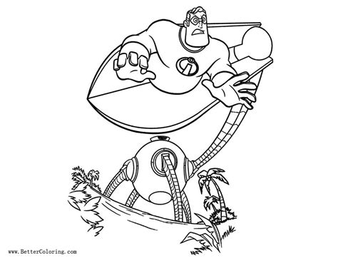 incredibles coloring pages incredibles coloring pages free printable