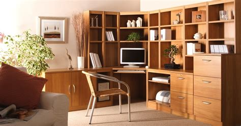 Home Office Furnitures Home Office Furniture Fitted Freestanding Office Kit