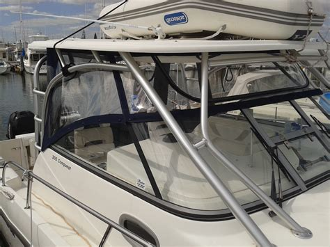 boat upholstery perth boston whaler crystal clear prestige marine trimmers