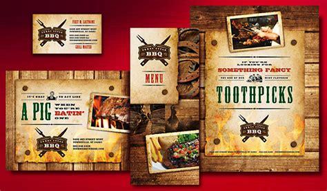 bbq menu template barbecue restaurant 171 graphic design ideas inspiration