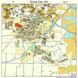 Grove City Ohio Map by Grove City Ohio Street Map 3932592