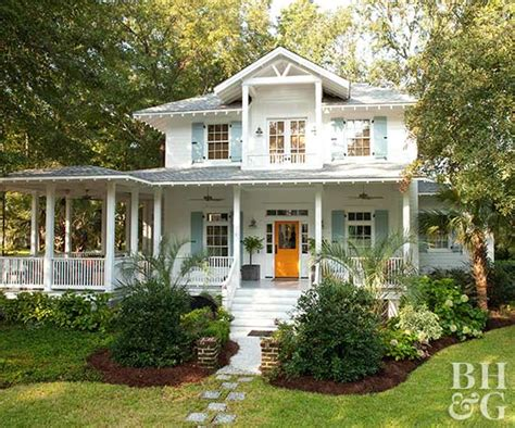 beach house exterior color schemes with beautiful garden house decorating a citrus color scheme better homes and