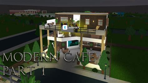 cheats on home design story lets build bloxburg modern cafe part 1 youtube codes