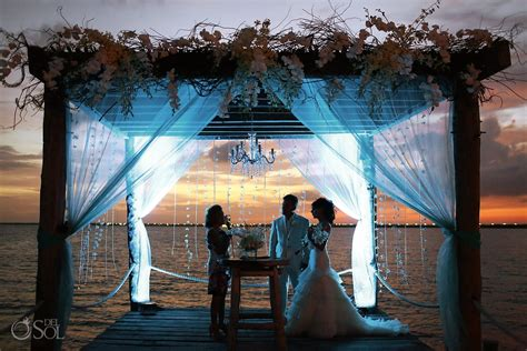 resort wedding venues in new nizuc resort and spa cancun weddings