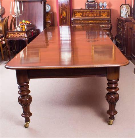 century victorian flame mahogany dining table