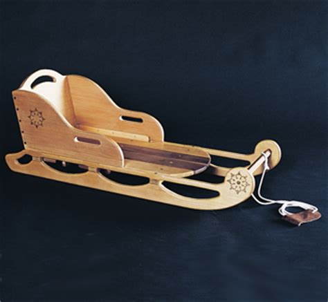 wooden sleigh plans  woodworking