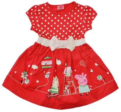 new children peppa pig top dress clothing multi
