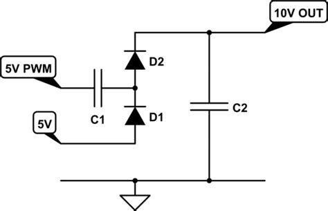 voltage doubler integrated circuit op op based dc dc voltage doubler electrical engineering stack exchange