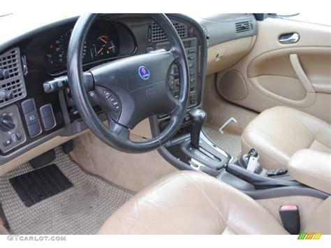 sand beige interior 2003 saab 9 5 linear sport wagon photo