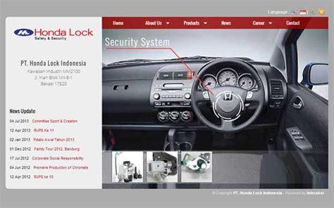 honda lock honda lock indonesia indonesia web design agency