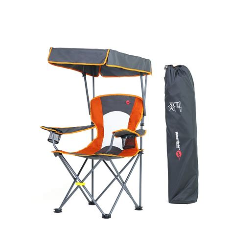 large chair with sunshade portable fishing chair with sunshade folding chair for