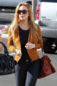 Lindsay Lohan Exits Rehab Enters Bar by Lindsay Lohan Leaves Rehab Today