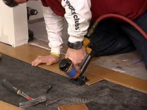 engineered flooring installing engineered flooring nail down