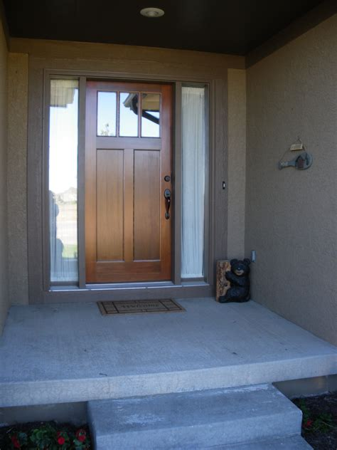 Front Door Remodel Single Wide Entrance Ideas