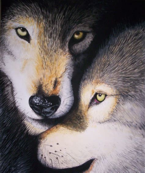 wolf painting wolf painting by chiroookami on deviantart