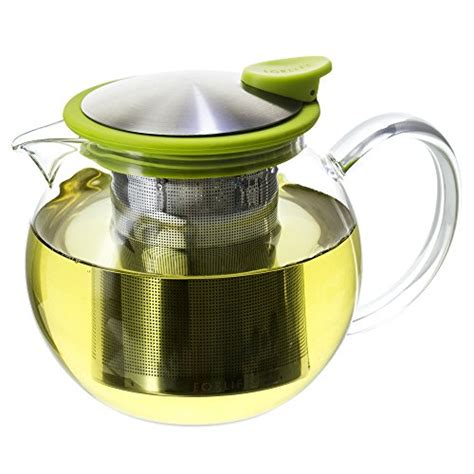 tea cozies forlife bola glass teapot with basket infuser