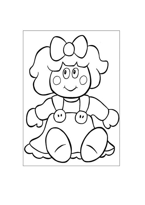 imagenes para pintar muñecas mu 241 eca con un lazo dibujos para pintar ni 241 os pinterest