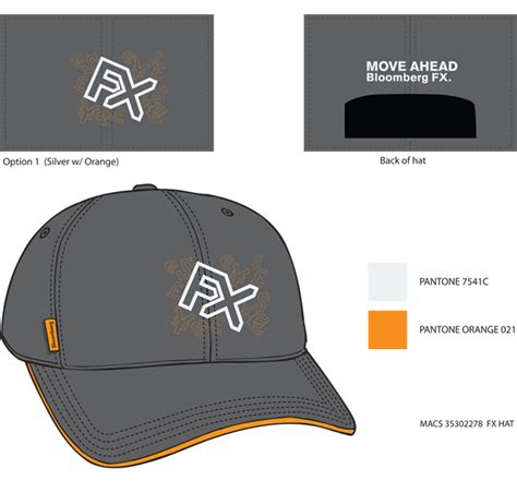 design brief of headgear iron cow productions 187 fx promotional hat