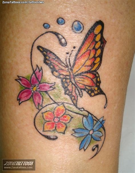 imagenes mariposas en la panza tatuaje de flores mariposas insectos