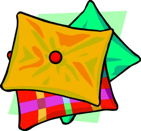 Pillow Clipart by Orange Pillow Clipart Cliparts And Others Inspiration