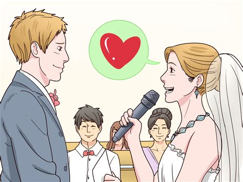 Wedding Vows To Step by How To Write Your Own Wedding Vows 11 Steps With Pictures
