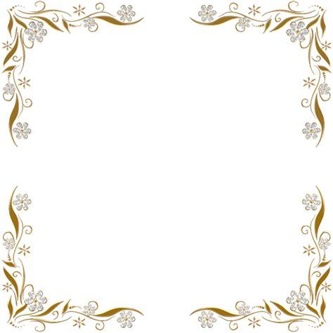 wedding invitation border designs png золотые цветочные уголки для photoshop обсуждение на liveinternet российский сервис онлайн