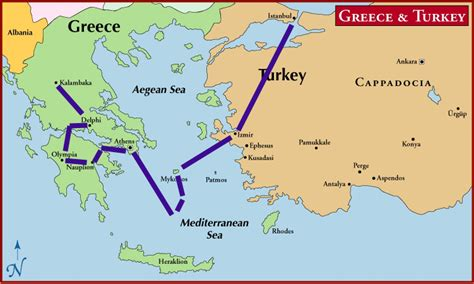 printable map of turkey and greece map of greece turkey and syria