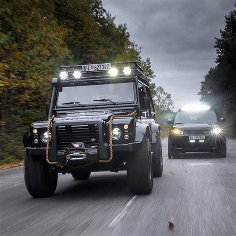 land rover truck james bond land rover defender 110 extreme black for james bond movie