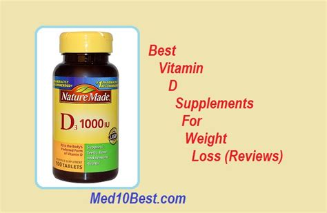 best weight loss supplements for best vitamin d supplements for weight loss 2018 reviews