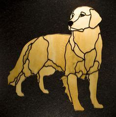 golden retriever stained glass pattern wood intarsia projects on stained glass patterns intarsia wood and