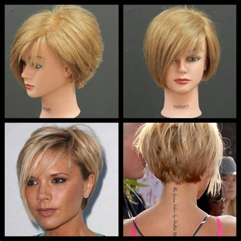 bob hairstyles tutorial victoria beckham inspired haircut tutorial thesalonguy