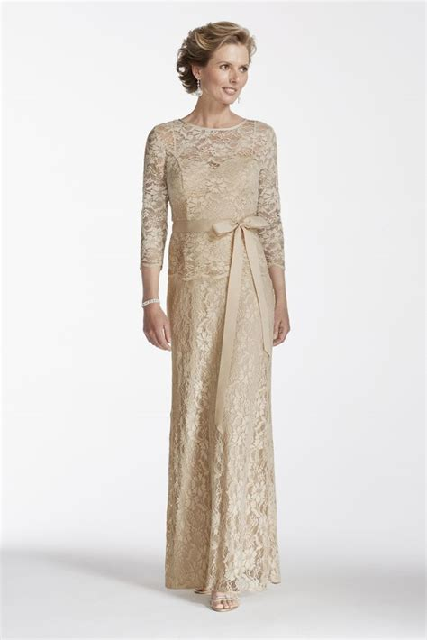 Mock Two Lace Dress lace mock two dress with sash style p1542 ebay