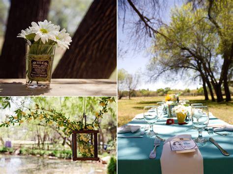 Casual Backyard Wedding Reception by Casual Outdoor Wedding Reception